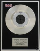 "KYLIE MINOGUE  - The Locomotion -  7"" Platinum Disc"